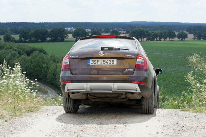Skoda Octavia Combi Scout - der Allrad Crossover SUV
