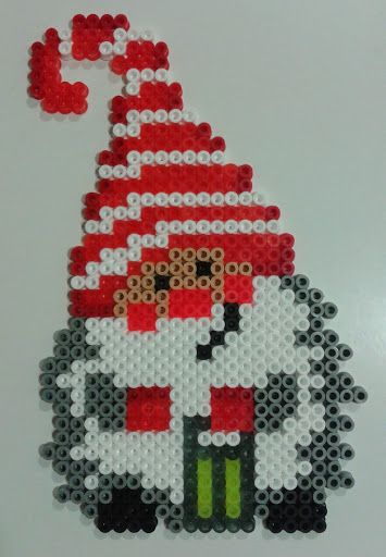Christmas elf hama beads More