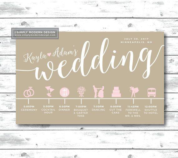 130 best WEDDING images on Pinterest Wedding itineraries - wedding timeline