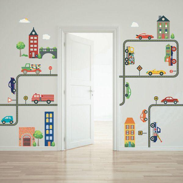 Little decor children 39 s wall decals dibujos de pared for Stickers habitacion nina