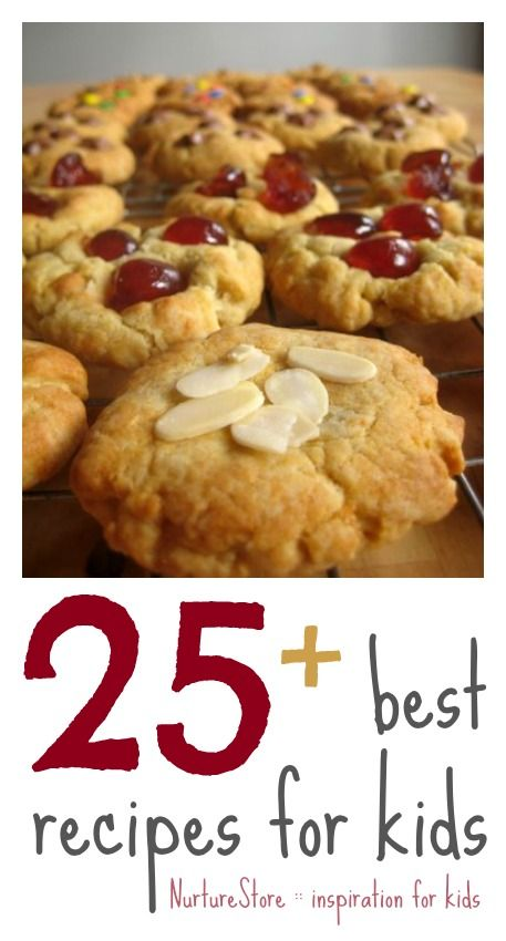 Ideas for when F's older... 25+ great recipes for kids to try NurtureStore