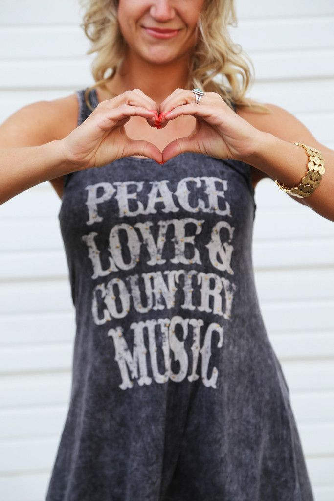 Peace, Love, & Country Music