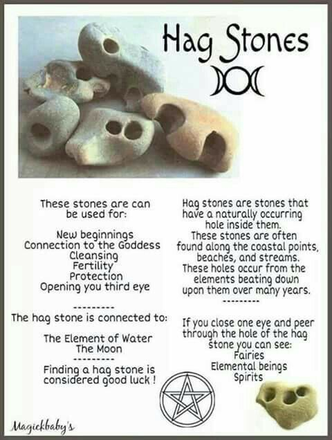 Alao knows as Croonie Stones! Amazing elemental protection especially with the correct invocation: )