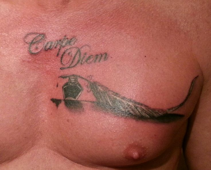 Carpe diem Tattoo by Martin Nissl