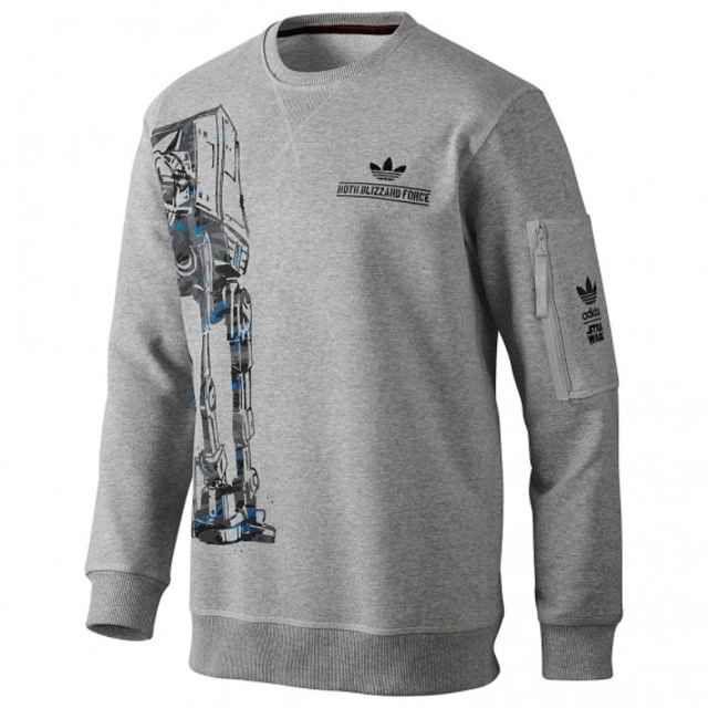 Star Wars x adidas Originals - Hoth Blizzard Force AT-AT Sweatshirt