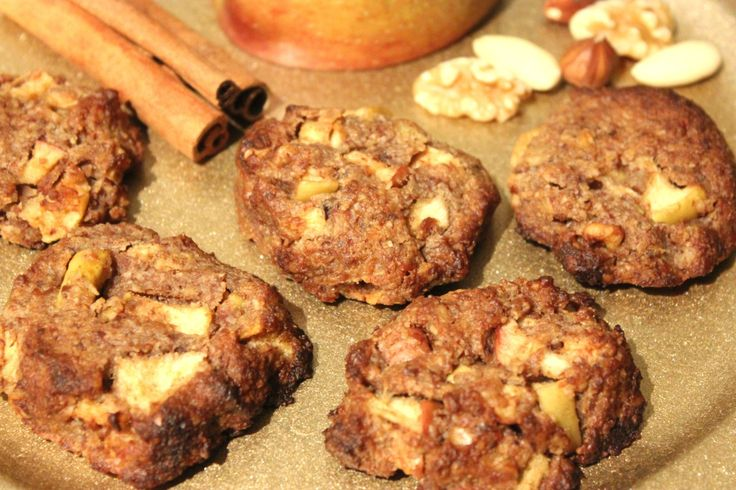 Low Carb Bratapfel Cookies
