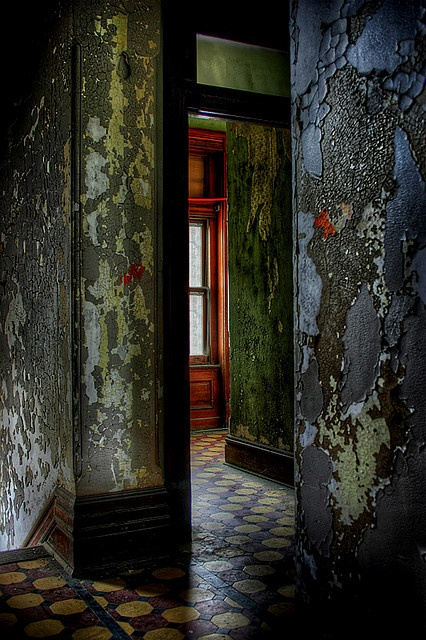 "Abandoned Ohio State Reformatory in Mansfield, Ohio.  ""Shawshank Redemption"" was filmed here. Photo by thebobblog"