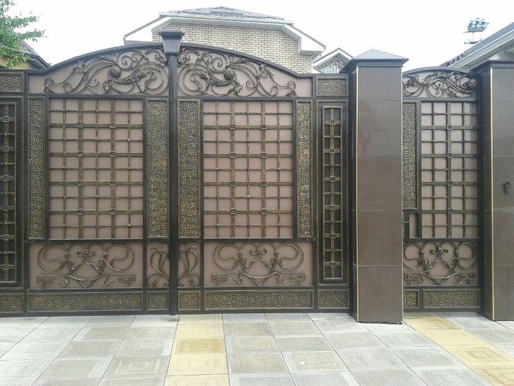 Кованые ворота - портфолио