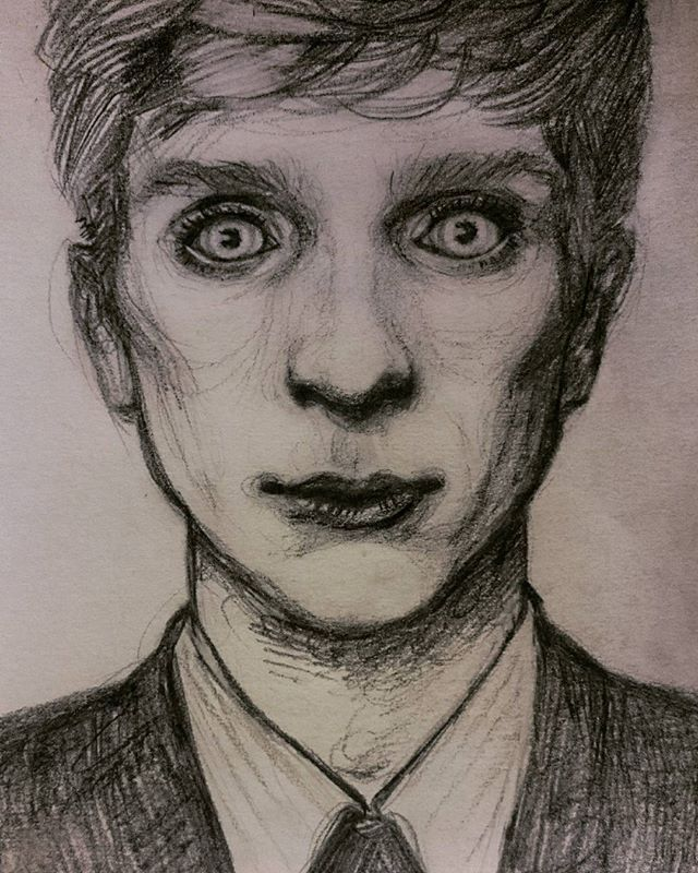 one more time ✏ #intheflesh #kierenwalker #art #drawing #pencil
