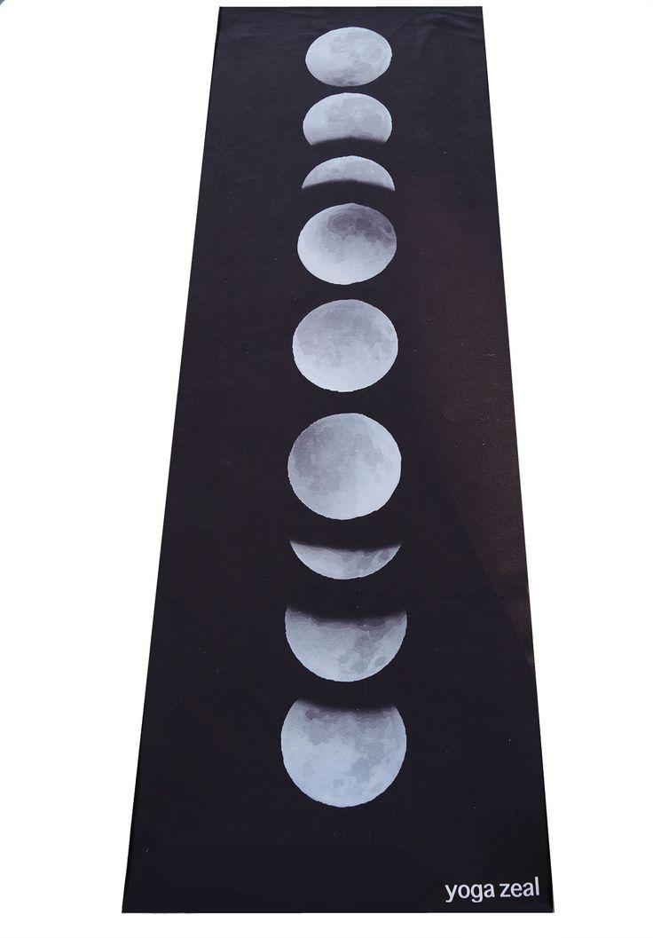 Moon Phases Yoga Towel