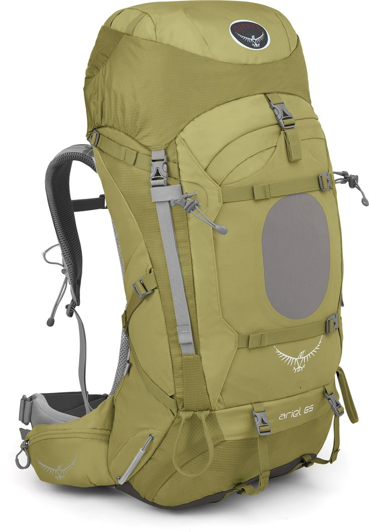 Stay on the trail longer with this 65 liter pack.