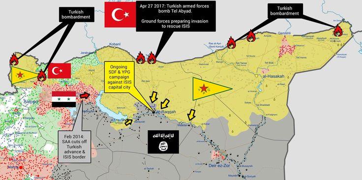 #Media #Oligarchs #Banks vs #union #occupy #BLM #SDF #Humanity  As Arab & Kurd #SDF alliance assault #ISIS's capital city in #Syria, #Turkey attacks from behind #Noflyzone4Rojava #YPG #TwitterKurds   https://twitter.com/thefnorder/status/857641349537042432