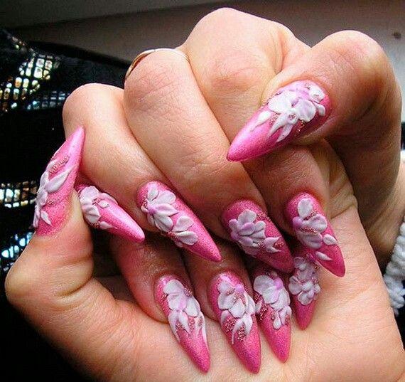 318 best Stiletto Nail Art images on Pinterest | Stiletto nail art ...