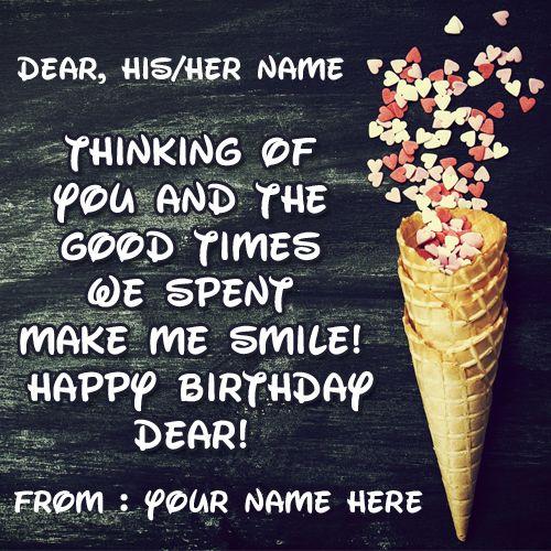 The 25+ best Online birthday card maker ideas on Pinterest - birthday card sample