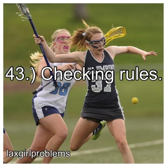 I hate when people say girls lacrosse is a joke...