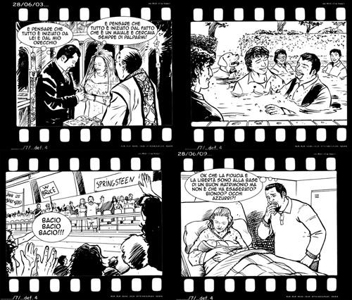 La vostra vita in un fumetto personalizzato