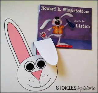 Howard B. Wigglebottom Learns to Listen is a great book to read to a class who needs to work on listening skills. There's a bunny craft to go with it, too!