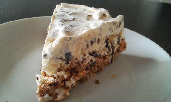 Hvad skal vi bage?: Hjemmelavet is med chokolade på nøddebund