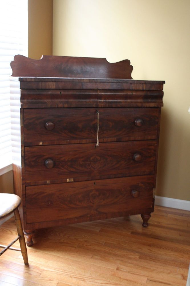 Early 1800's Antique Dresser