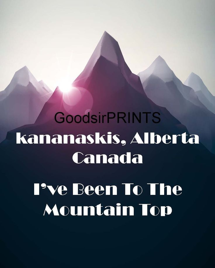 A personal favorite from my Etsy shop https://www.etsy.com/ca/listing/245570108/kananaskis-alberta-canada-ive-been-to