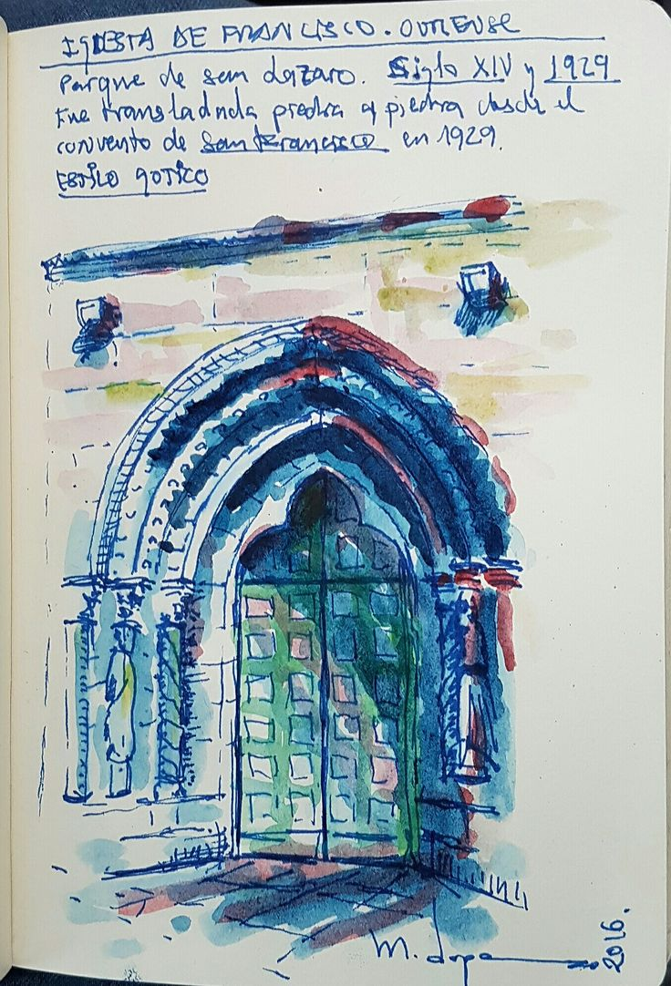 Iglesia de SAN FRANCISCO . Parque San Lazaro . Ourense Gotica -Siglo ...