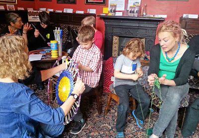 Making Brilliant Birds at the Golden Ball Pub, York