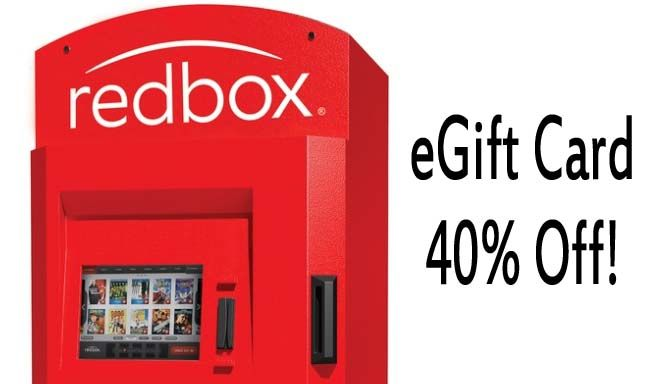Want more news about activities going on in Utah? Join our Facebook Group. Groupon is offering up two Redbox eGift Card deals. Choose from the following: Pay $6.50 for a $10 Redbox eGift Card Pay $12 for a $20 Redbox eGift Card eGift Card will only be valid online and can be used for DVD and Blue-ray rentals but NOT