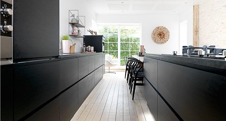 Køkkenet går i sort: Nye tendenser fra Milano | JKE Design