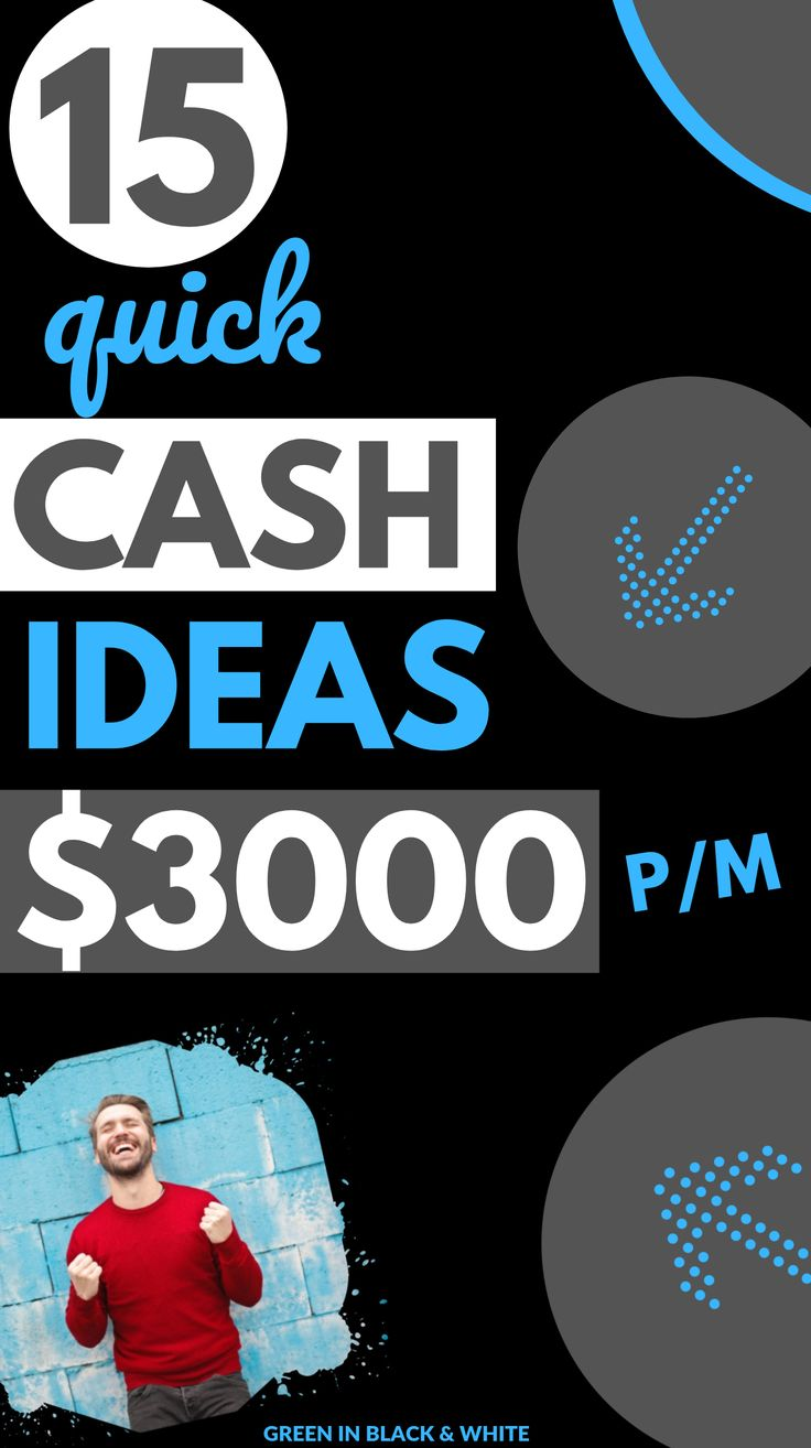15 quick cash ideas to make $3000 per month| Want to make extra money from home?… – Creative Ways to Make Money