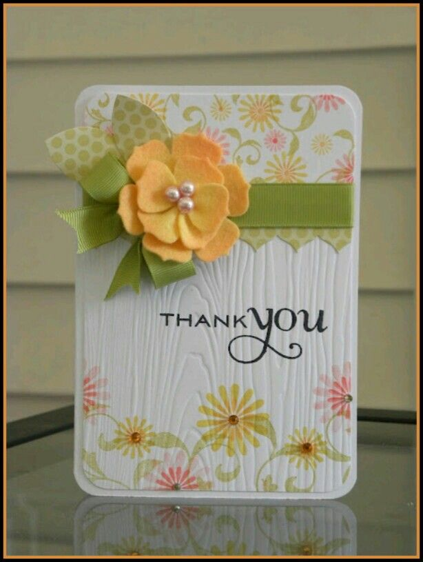 wedding thank you cards time limit%0A Paper Wishes  Thank you card  I like how they used the wood grain embossing