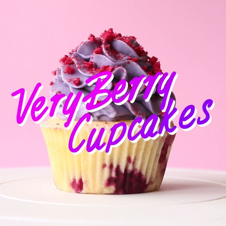 For times when basic berry cupcakes aren't satisfying enough.