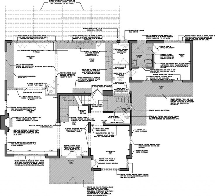 1st FLOOR Demolition Plan Renovation Pinterest Plan drawing - demolition specialist sample resume