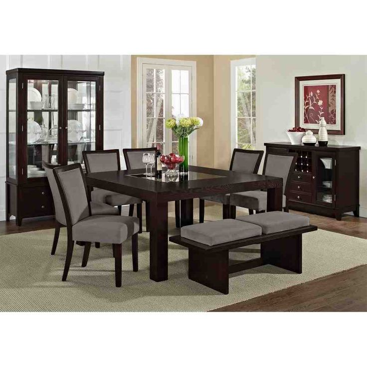 Gray Dining Table And Chairs