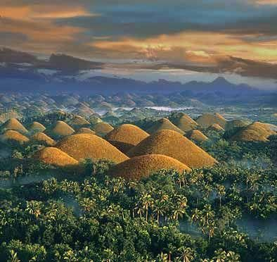 Chocolate Hills, Bohol, Philippines: Natural Wonder, Favorite Places, Chocolates Hill, Beautiful Places, Places I D, Chocolate Hills, Amazing Places, Adventure Travel, Philippines