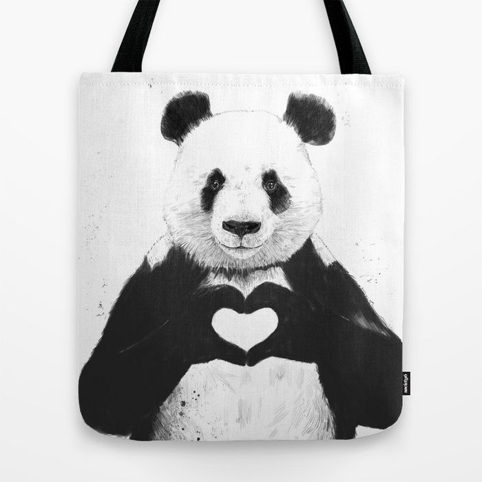 All you need is love (and a panda)
