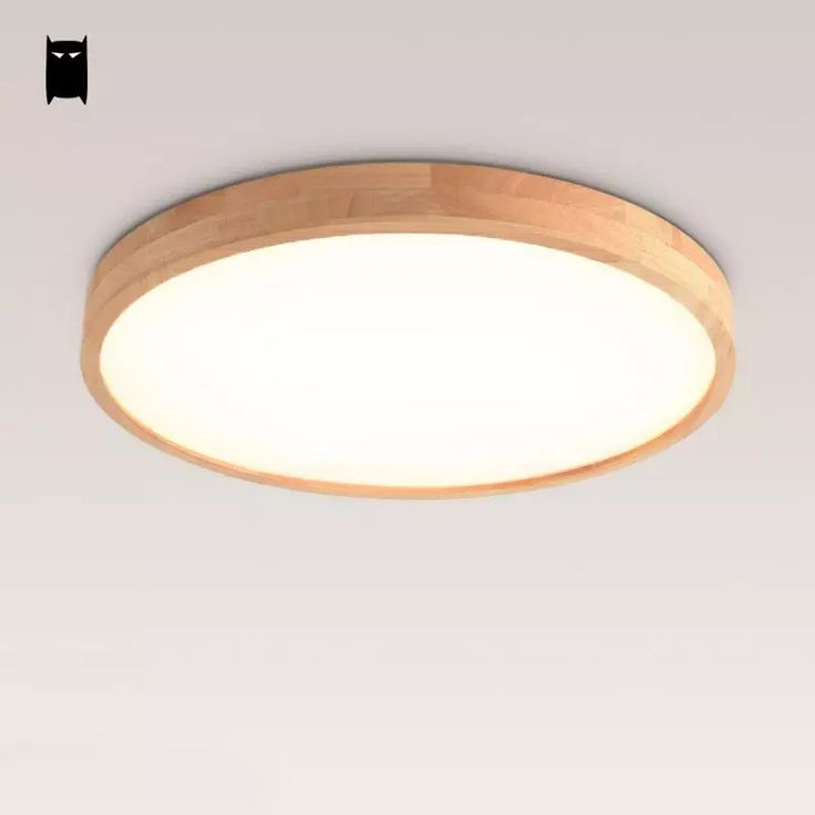 Cheap Living Room Buy Quality Plafon Lamp Directly From China Ceiling Light Fixture Suppliers Round Thin Oak Wooden Acrylic Geometry