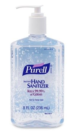 Purell Instant Hand Sanitizer 8 Oz Pump Bottle Hand Sanitizer