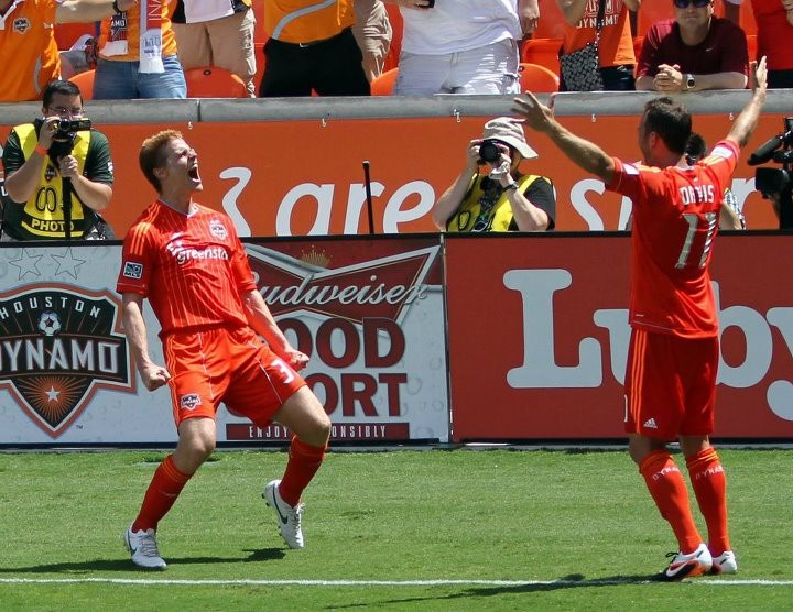 Best goal celebration ever!Houston Dynamo, Goals Celebrities