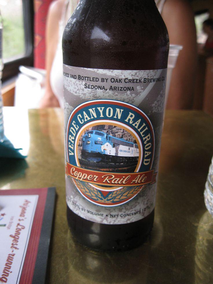 More memories of Arizona..Verde Canyon beer on a train ride in the rain.Rain??Arizona!?....yes.