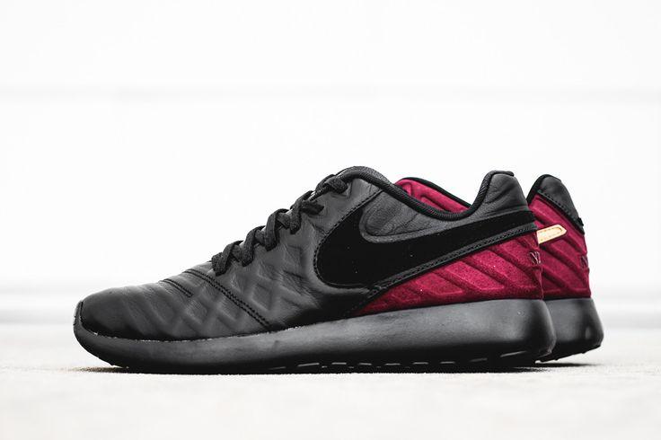 "Nike Roshe Tiempo VI FC ""Black, Team Red & Gold"" - EU Kicks Sneaker Magazine"