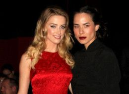 Amber Heard with girlfriend, Tasya van Rees