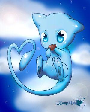 Mew (pokemon) images Shiny Mew Chibi wallpaper and background ...