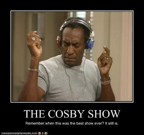 The Cosby Show- my favorite way of parenting EVER! Watching it right now while I rock Grayson to sleep. :)