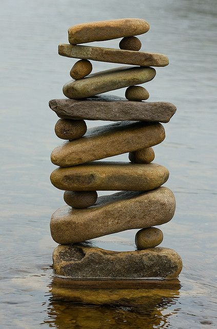 water stack - balance, equilibrium, peace