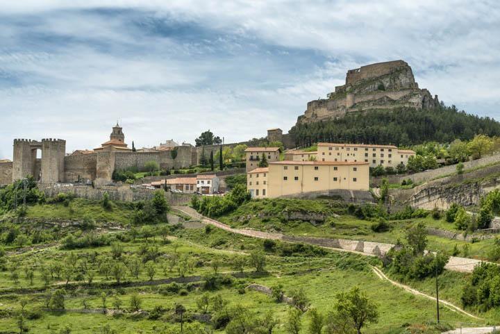 pueblo medieval de Morella en Castellón