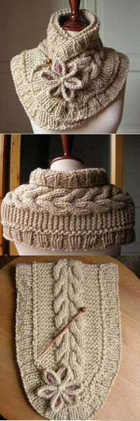 Wish i could knit! someone make this for me, please. Gorgeous cowl. Found the pattern on Ravelry.