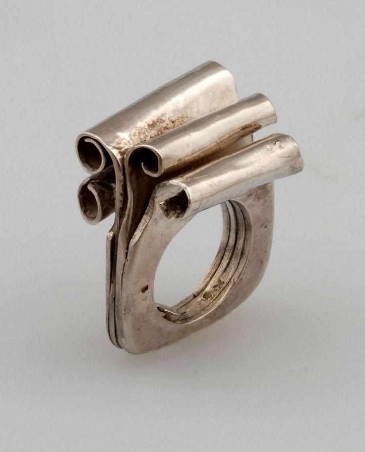 One Of A Kind Scroll Ring - wowza!!