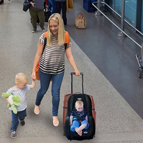 Car Seat Strap Turn Your Carseat And Carry On Luggage Into An
