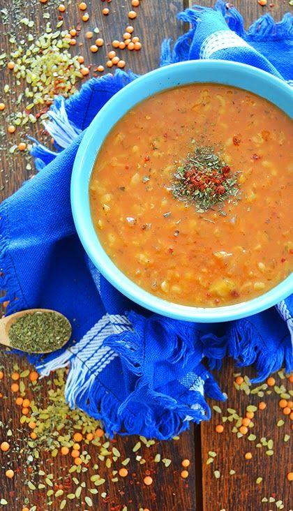 Recipe Ezogelin Corbasi Or Turkish Red Lentil Soup