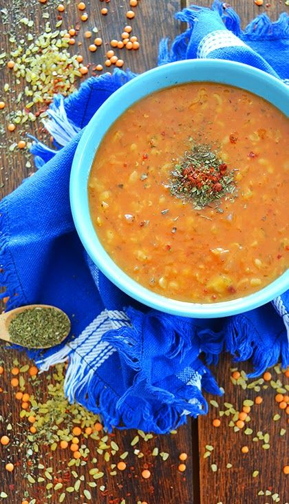 "Recipe: Ezogelin çorbası or ""The soup of Ezo the bride"" is a hearty Turkish soup made from red lentils and bulgur. -- shewandersshefinds.com =="